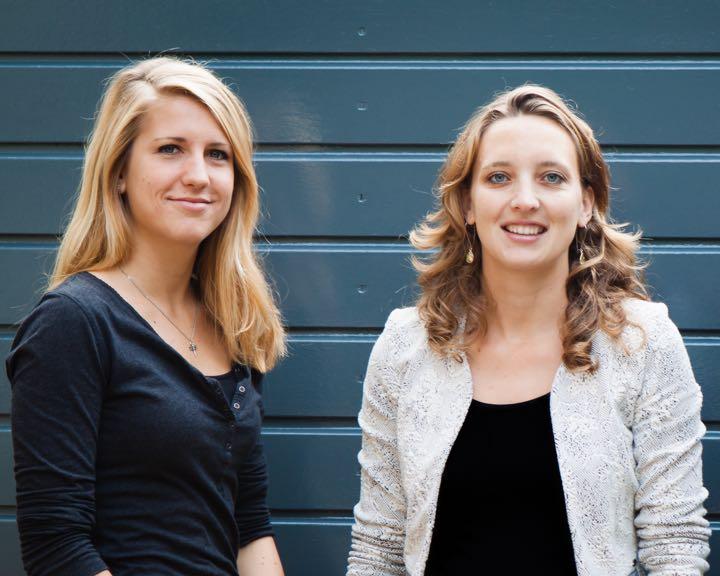Jessica van Nieuwkerk en Yvonne van den Berg